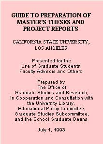 title page of thesis guide